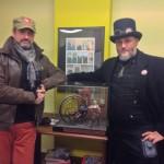 Stefano Marchetti e Augusto Chiarle allo Steamboat