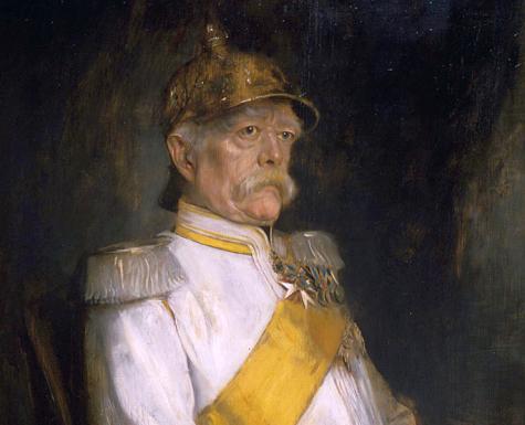 Otto Eduard Leopold von Bismarck  *oil on panel  *121 x 87.5 cm  *1890